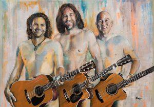 Keller Steff, Michi Dietmayr, Roland Hefter - 3 Männer nur mit Gitarre @ Backhaus Gaimersheim