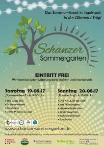 Schanzer Sommergarten @ Gärtnerei Trögl